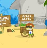 Grass Skirt Man