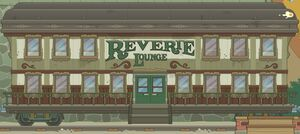 Outside the Reverie Lounge
