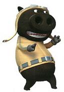 Pig Black World