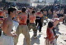 Afghan Shiites Self Flagellate