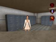 Nurse in Clinics Reception