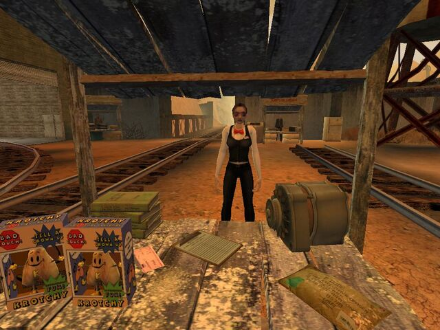 Plik:Woman selling items related to errands from Postal 2 001.JPG