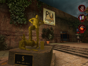 Exterior of the PU Games 001