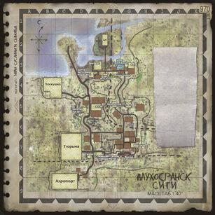 Muhosransk City map