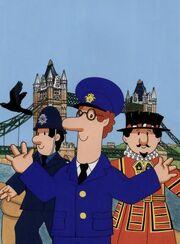 Postman Pat in London