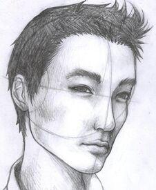 Asian guy by zae369