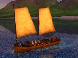 Periauger RiverBoat