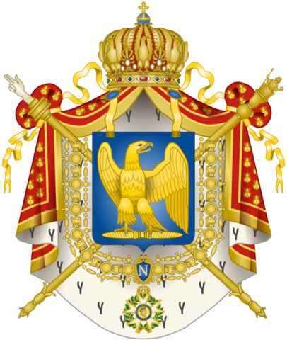 File:Coat of Arms Second French Empire.png