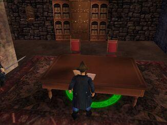 The Treasurehunter's office.
