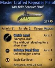 Master Crafted Repeater