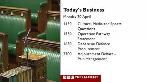 New look BBC Parliament 2009