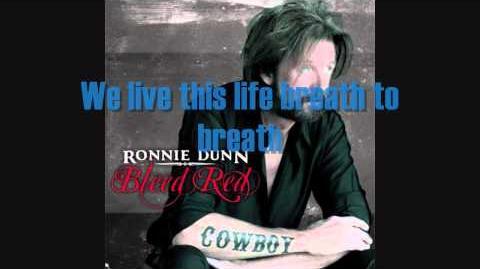 Bleed Red -- Ronnie Dunn (LYRICS!)
