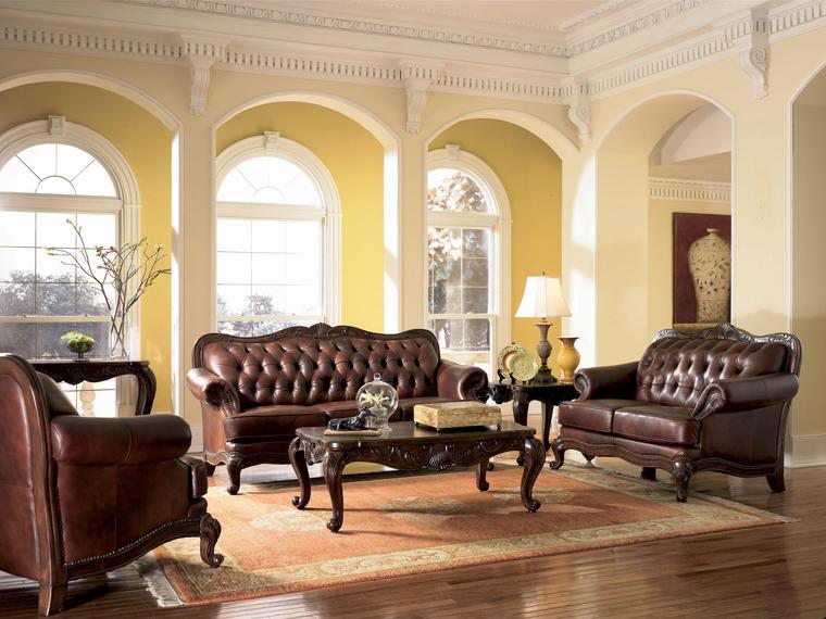 Image European Tuscan Decor Furniture Living