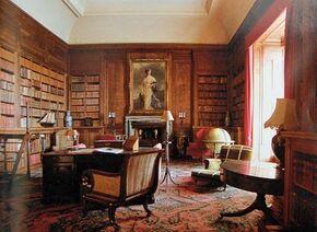 Dunrobin castle library