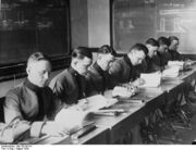 Class at Rhine River Military Academy