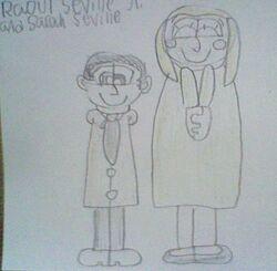 RJ and Sarah Seville