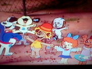 Cheering Pound Puppies