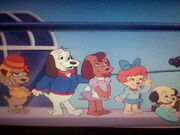 Pound Puppies at the Airport