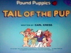 Title Screen for Tail of the Pup