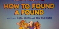 Episode 2: How to Found a Pound