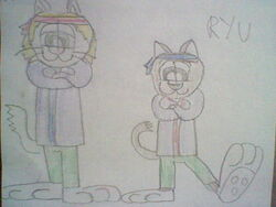 Ryoma and Ryu