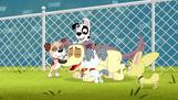 203. Dog Pile on Lucky