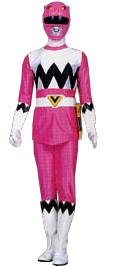 Pink Galaxy Ranger