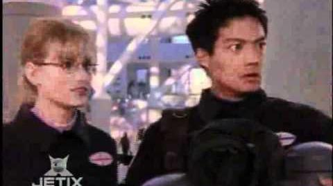 Power Rangers Lost Galaxy - Leo meets Kendrix