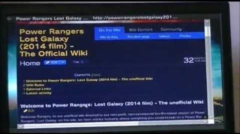 Power Rangers Lost Galaxy (2014 fan-film) - Morphin Grid Web Feature (1 of 3)
