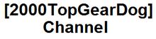 2000TopGearDog Channel logo