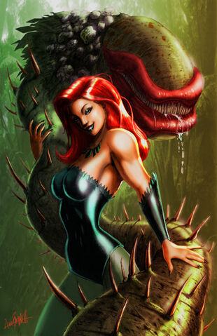 File:Poison ivy and her monster.jpg