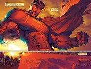 Optic Blasts By Superman