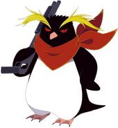 Rock penguin