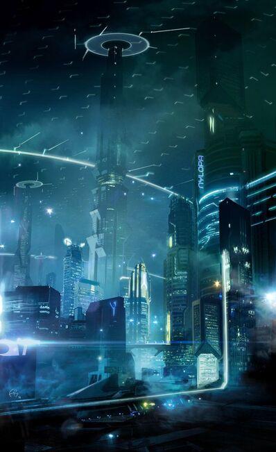 D.I.N city