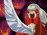 Inuyasha and Diamond Tessaiga