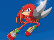 Knuckles Shovel Claw