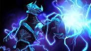 Lightning remnant