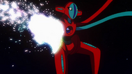 Deoxys regenerating