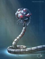 Metalic worm by lai6-d2wxeqr