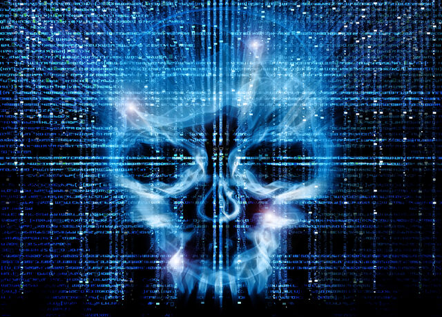 File:Cybersecurity-skull-blue-Matrix.jpg