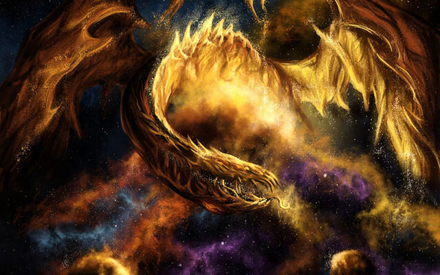 File:Fantasy dragon fire sci fi space nebula stars art 1440x900.jpg