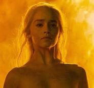 Daenerys Targaryen Game of Thrones Fire Immunity