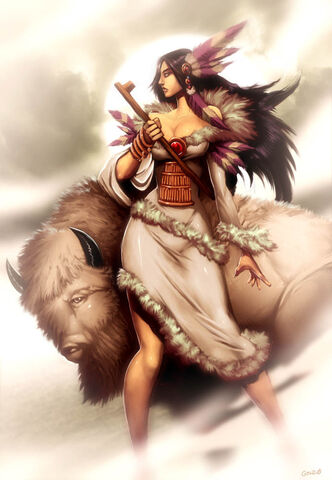 File:White Buffalo Woman by GENZOMAN.jpg