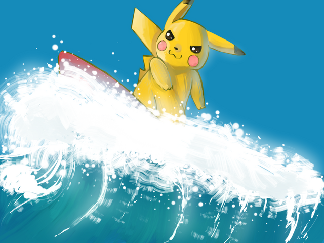 File:Surfing Pikachu.png