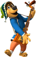 Bodi rock dog