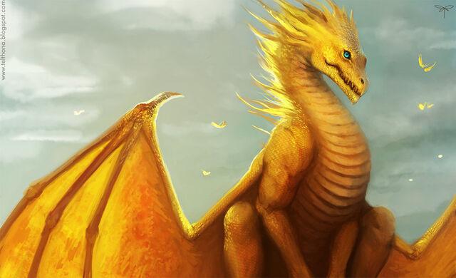 File:Golden dragon by telthona-d4jpvyo.jpg