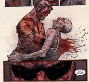 Impalement by Old Man Logan