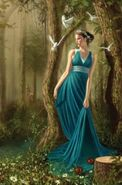 Persephone Daughter of Greek Goddess Demeter-198x300