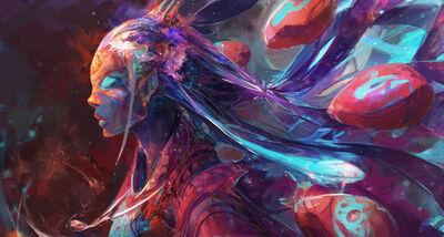 Cosmic entity by jasontn-d9163by