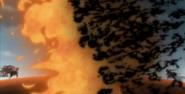 Amaterasu devour fireball